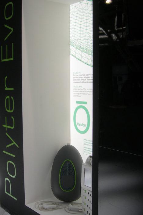 Polyter Evo - Marcello Gennari design 2013