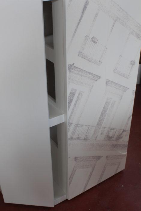 Marcello Gennari a Pesaro progetta mobili con aree di arricchimento ambientale per gatti