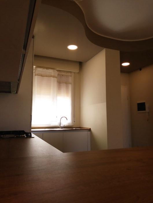 Ristrutturazione appartamento. Progetto Marcello Gennari, Pesaro